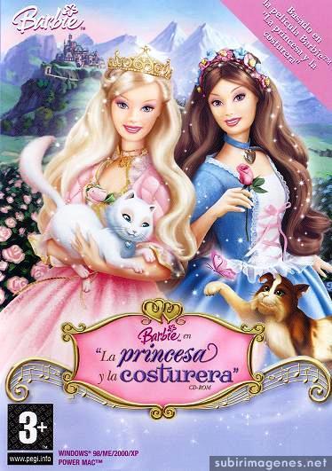 Barbie En La Princesa Y La Costurera Pc 2004 Espanol