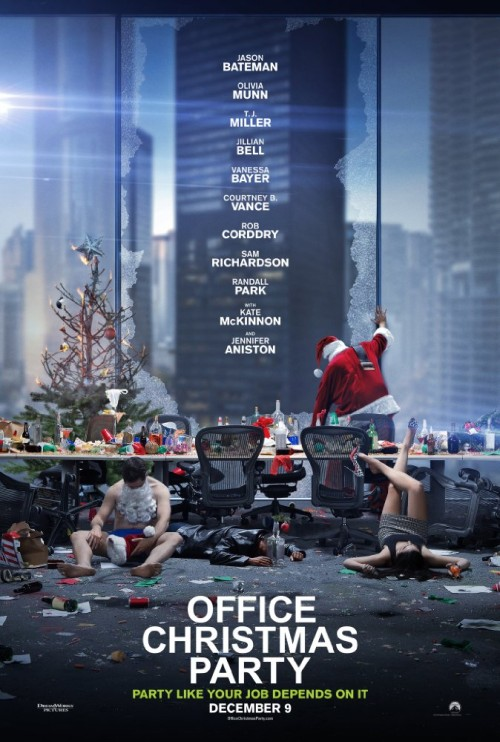 Office Christmas Party 2016 720p Hdrip X264 Ac3 Titan