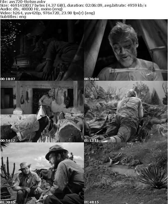 The Treasure Of The Sierra Madre 1948 720p BluRay x264-AVS720 [NORAR]