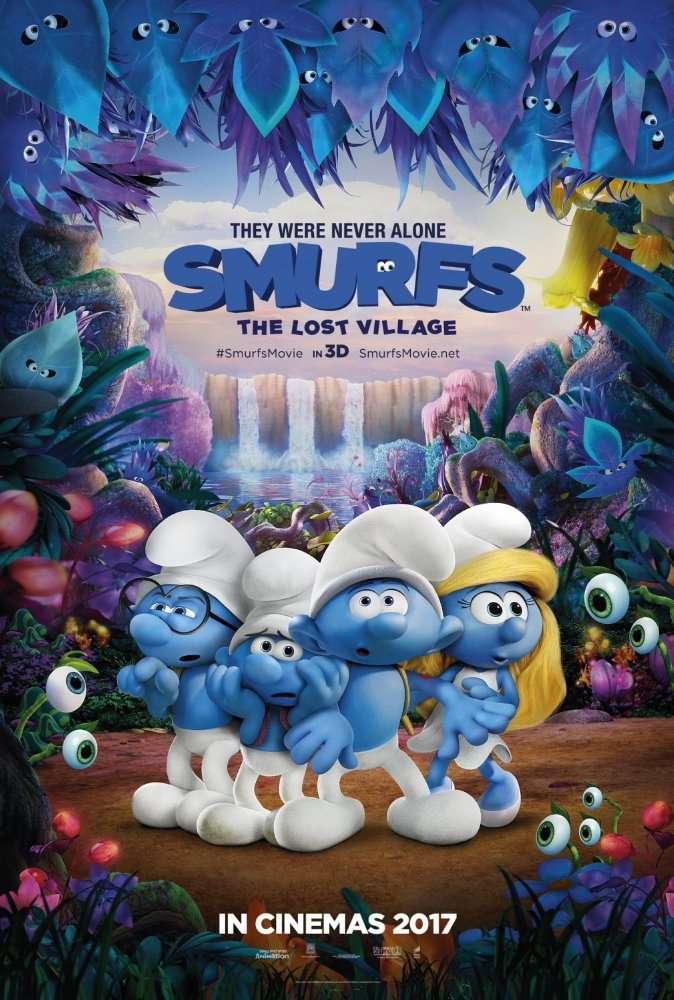 Smurfs The Lost Village 2017 HEVC  BluRay DTS x265LEGi0N
