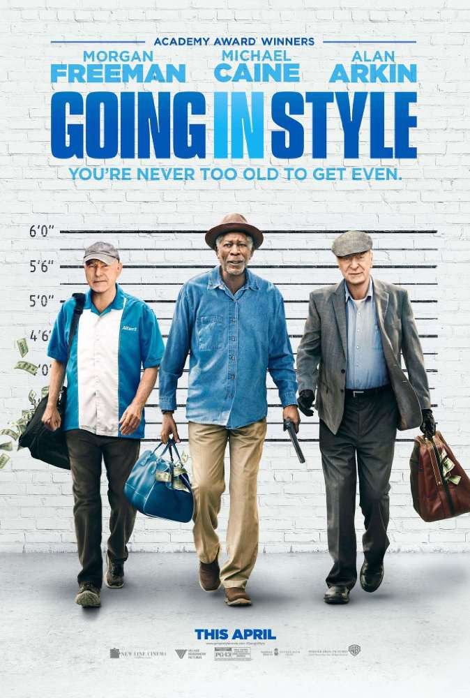 Going in Style 2017  HDRiP x264 AC3MAJESTIC