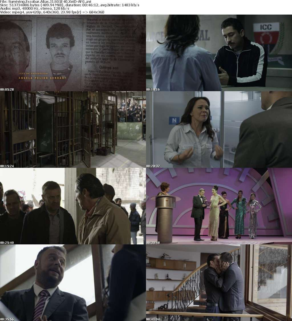 Surviving Escobar Alias JJ S01E40 XviD-AFG