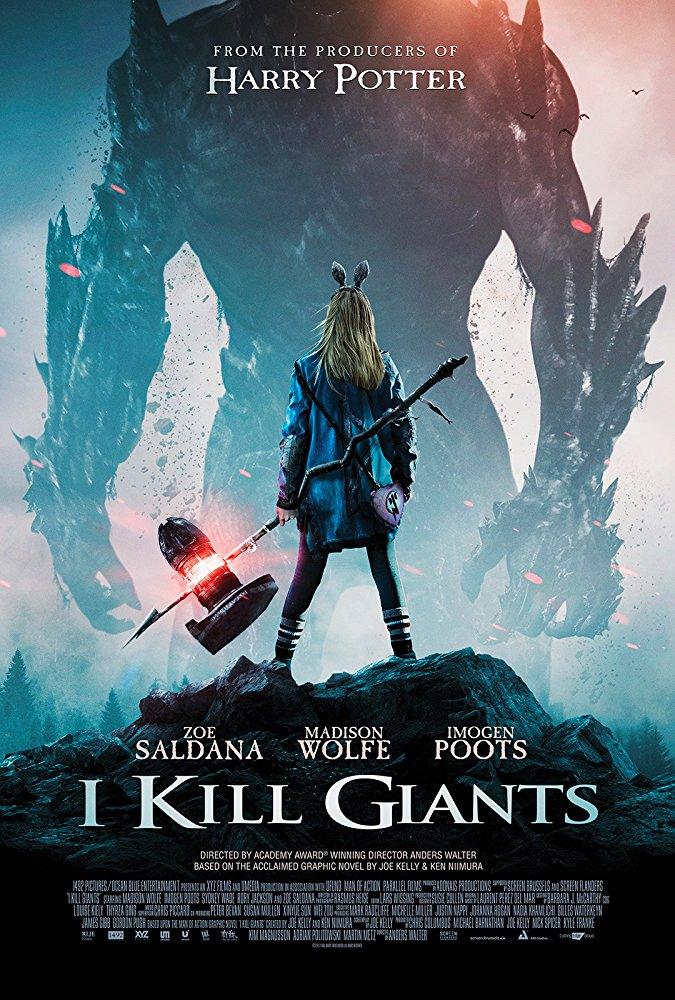 I Kill Giants (2017) [WEBRip] [720p] YIFY