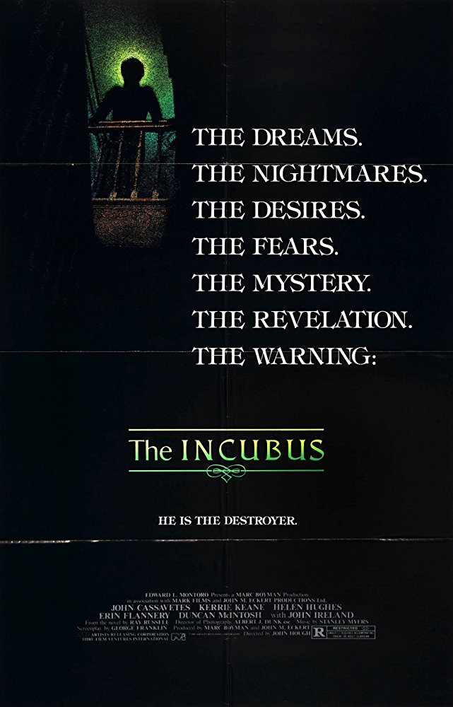 The Incubus 1982 DVDRip XViD
