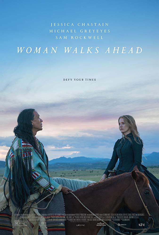 Woman Walks Ahead (2017) 720p WEB-DL x264 800MB - MkvHub