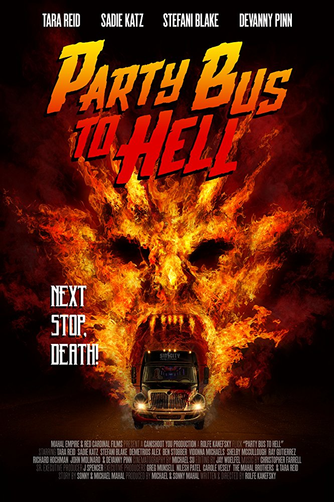 Party Bus to Hell (2017) 720p BRRip 600 MB - iExTV