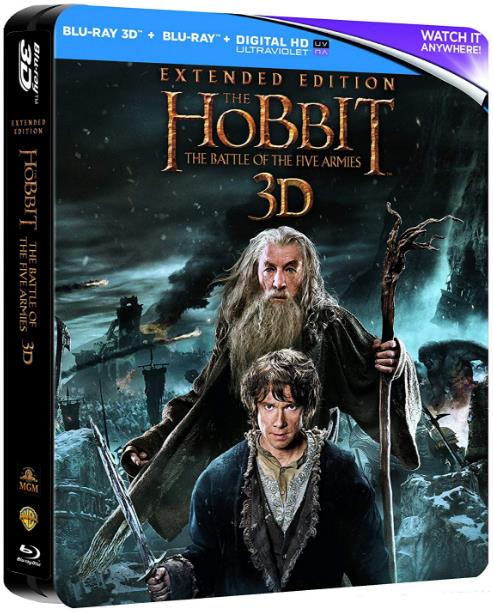 The Hobbit The Battle of the Five Armies (2014) 3D HSBS 1080p BluRay AC3 Remastered-nickarad