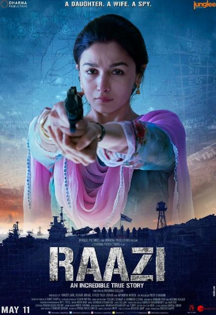 Raazi (2018) Hindi HDRip 480p ESubs 400MB-DLW
