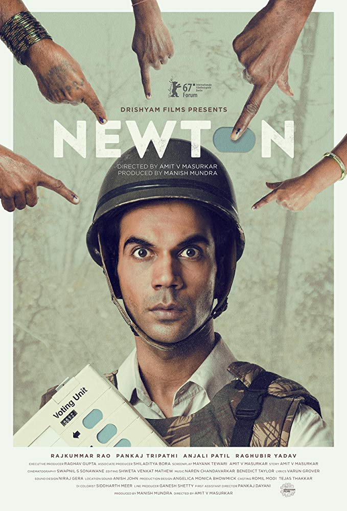 Newton (2017) Hindi 720p BluRay x264 ESub MW