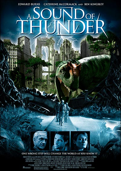 A Sound of Thunder (2005) 720p BluRay x264 Dual Audio Hindi 2.0 - English 2.0 ESub MW