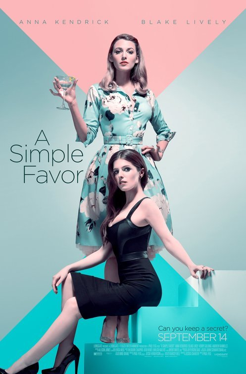 A Simple Favor (2018) NEW HDTS XViD AC3-ETRG
