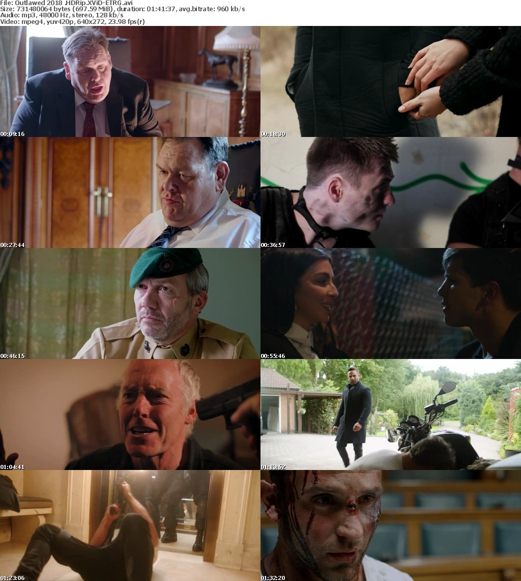 Outlawed (2018) HDRip XViD-ETRG