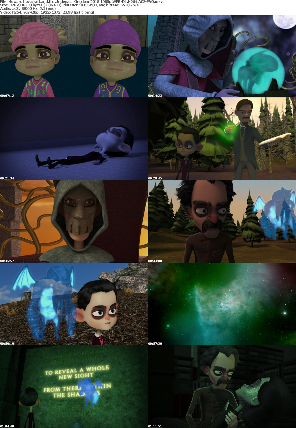 Howard Lovecraft and the Undersea Kingdom (2018) 1080p WEB-DL H264 AC3-EVO