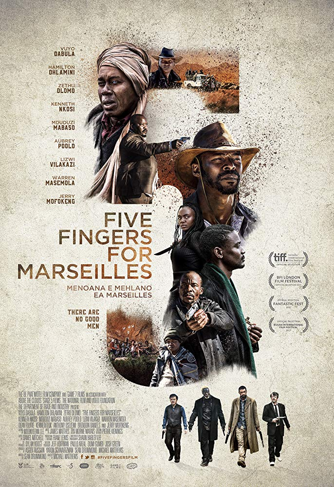 Five Fingers for Marseilles (2018) 720p WEB-DL H264 AC3-EVO