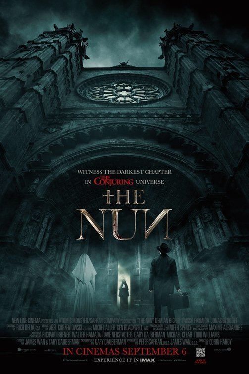 The Nun (2018) 1080p HC HDRip x264 MW