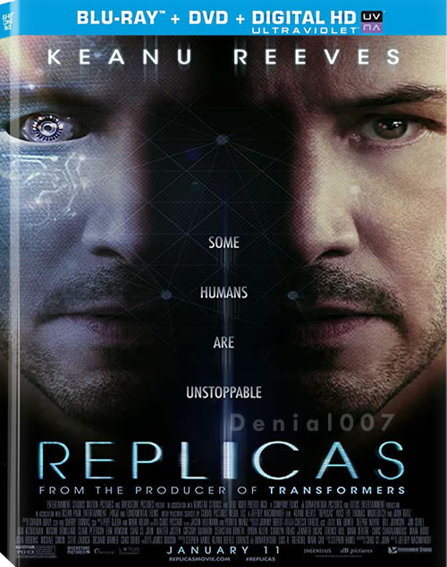 Replicas (2018) HC HDRip XViD AC3-ETRG