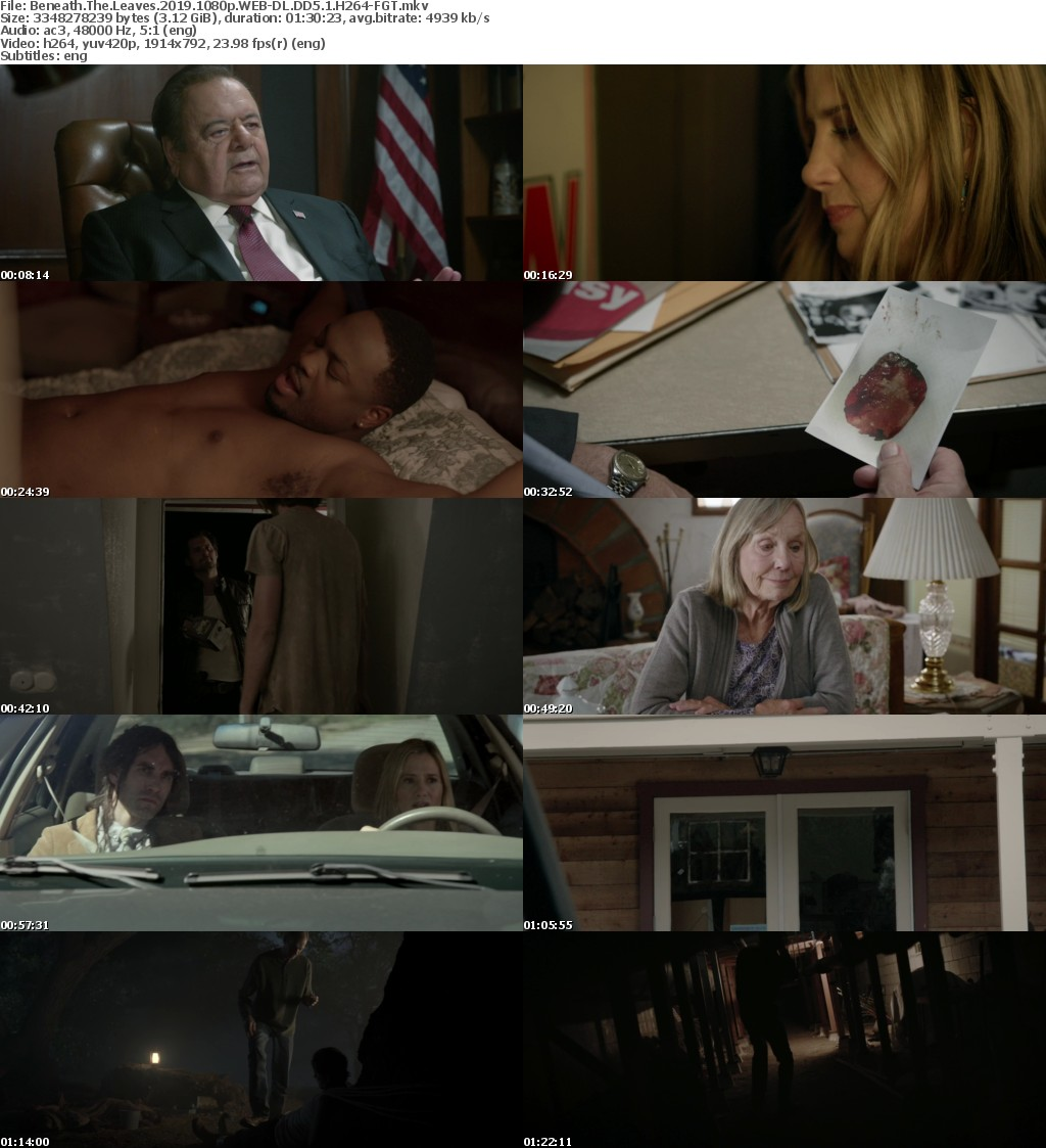 Beneath The Leaves (2019) 1080p WEB-DL DD5.1 H264-FGT