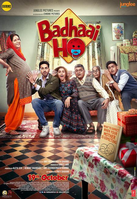 Badhaai Ho 2018 Hindi 1080p BluRay DD 5 1 x264 ESub [MW]