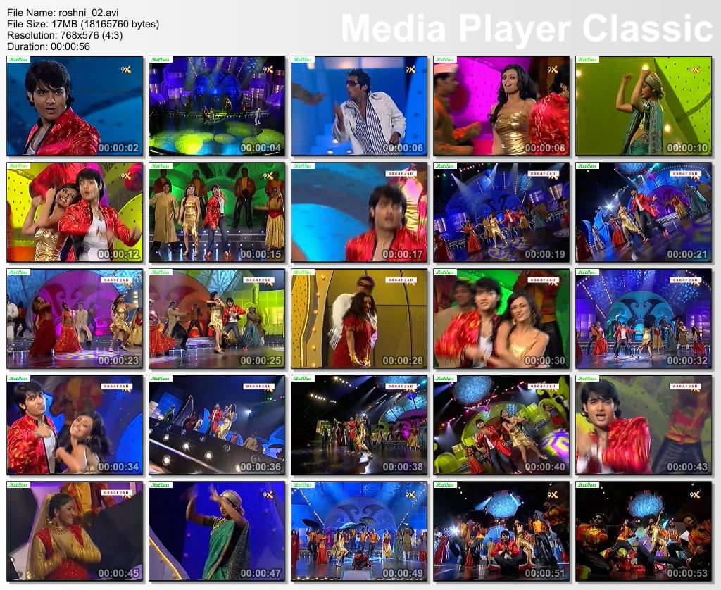 video of Roshni Chopra in a dance performance...