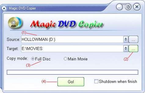 Magic DvD copier 4 7+serials[madcomputerdash] preview 0