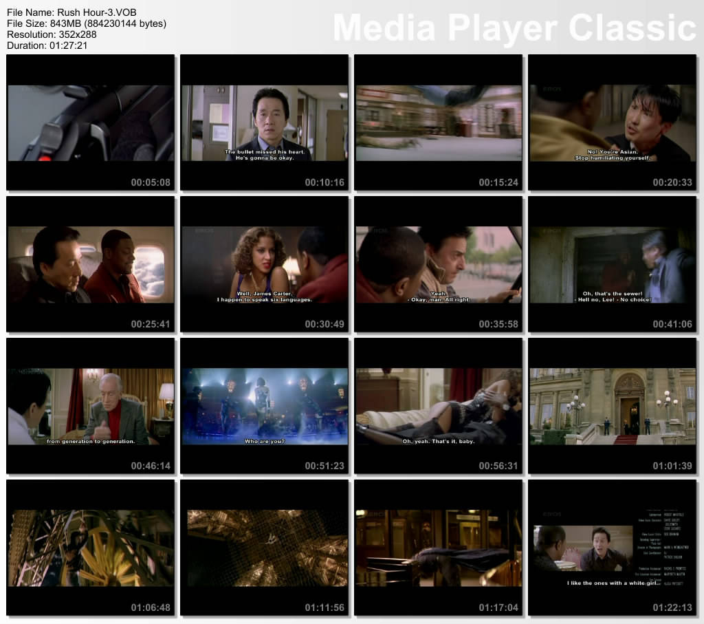 Rush Hour 3 {Hindi Dubbed} ( preview 0