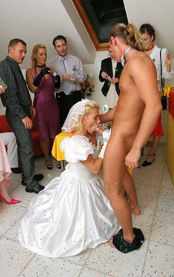 Nude pictures of brides
