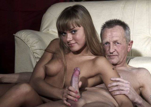 фото старики с молодыми