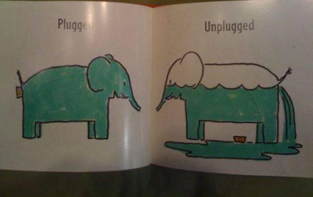 Un curioso libro para niños sobre elefantes
