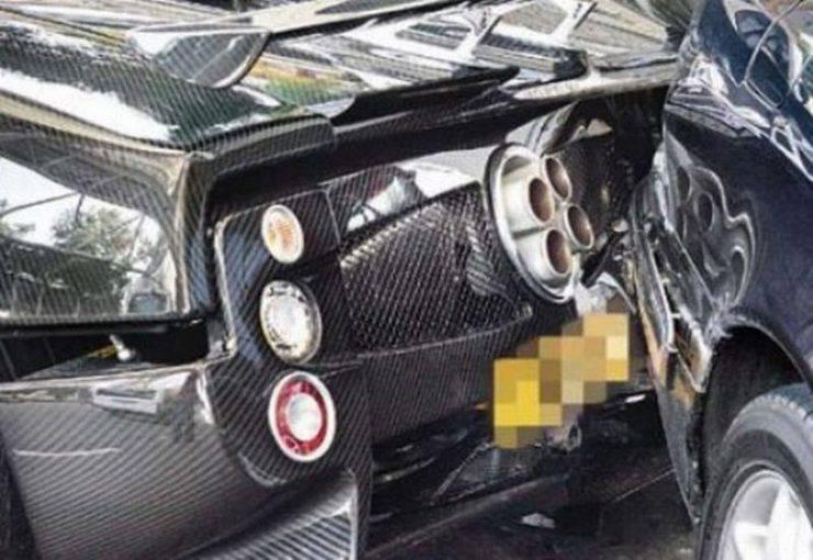 Wypadki najdroższych samochodów 28