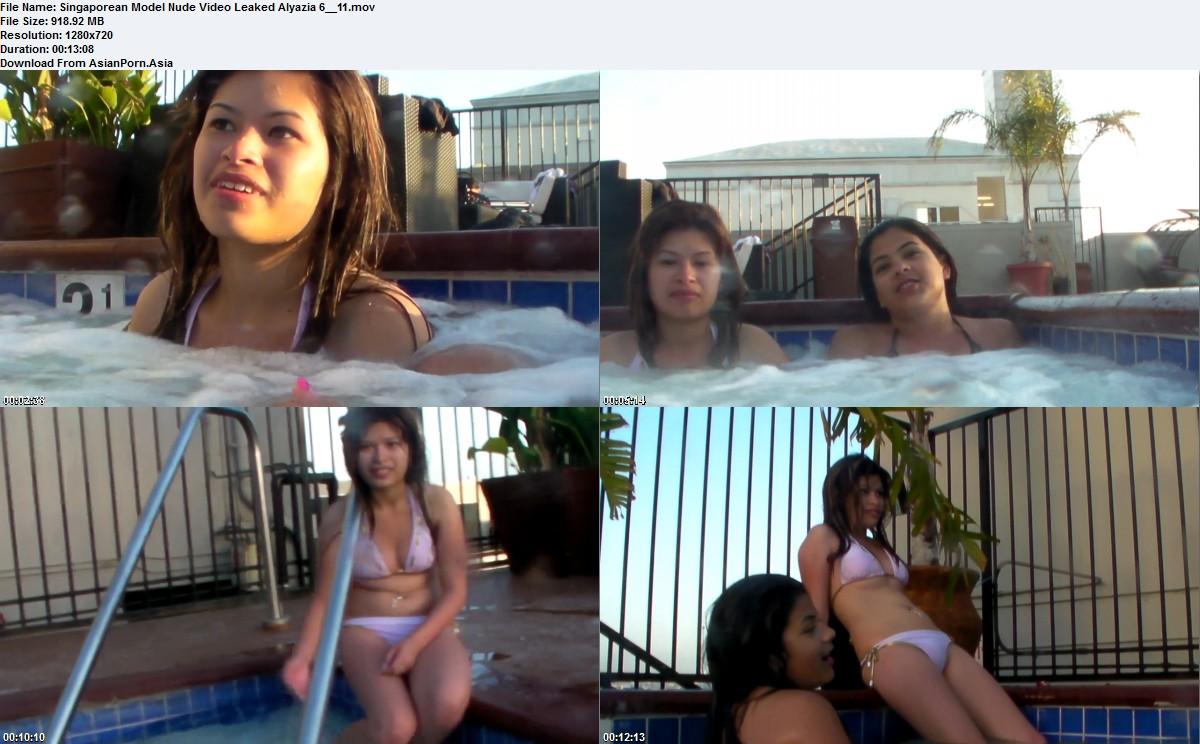 Singaporean Model Nude Video Leaked Alyazia