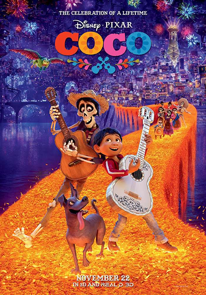 Coco 2017 720p DvDScr Hindi Dubbed Ov3rload