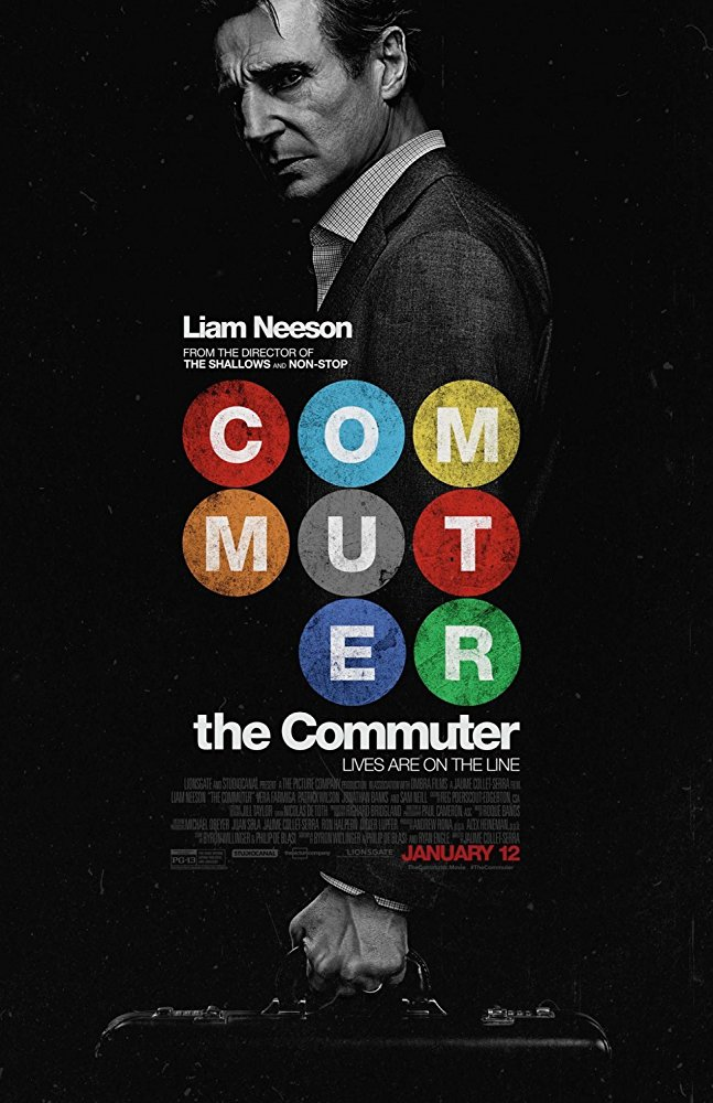 The Commuter 2018 DVDRip XviD AC3-EVO
