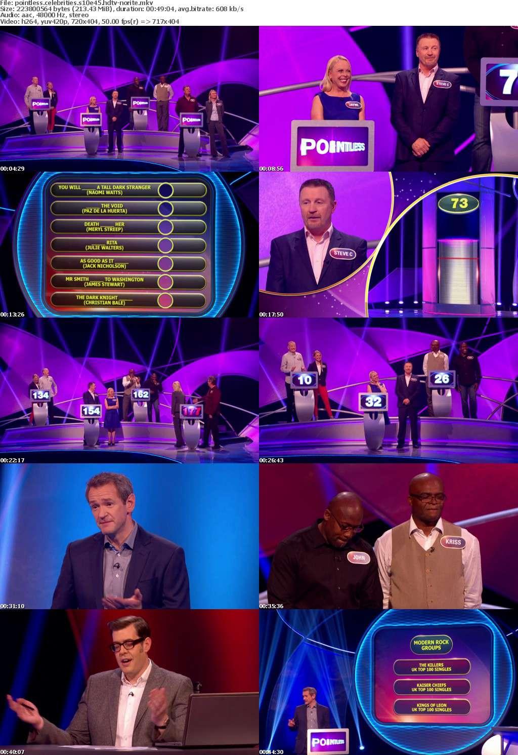 Pointless Celebrities S10E45 HDTV x264-NORiTE