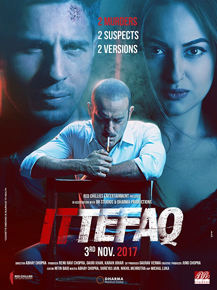 Ittefaq 2017 Hindi 2CD DVDRip x264 ESubs DD 5 1 - LOKI - M2Tv