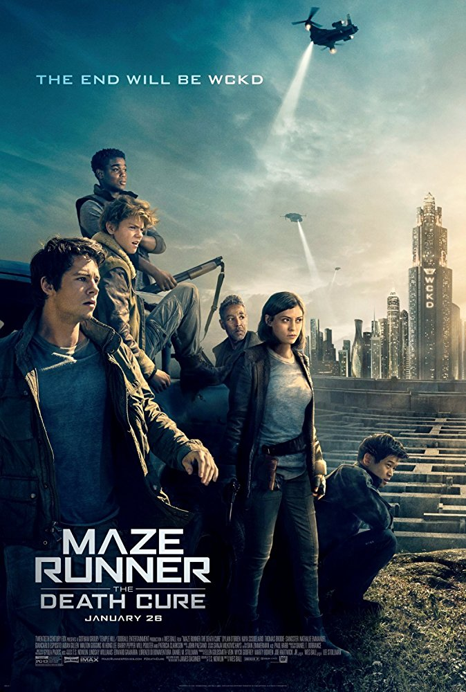 Maze Runner The Death Cure 2017 V2 720p HC HDRip X264 AC3-EVO