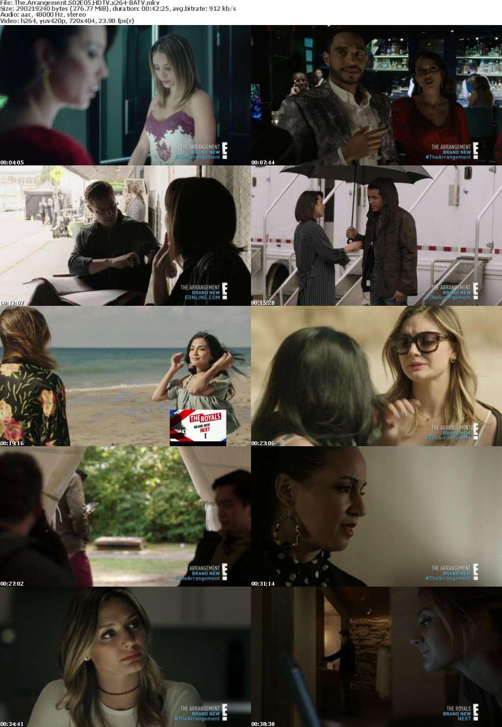 The Arrangement S02E05 HDTV x264-BATV