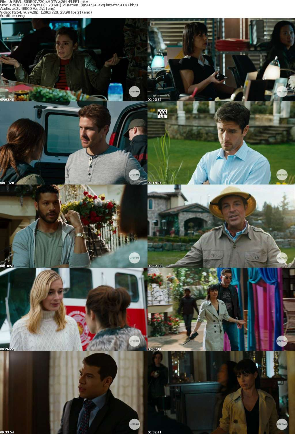 UnREAL S03E07 720p HDTV x264-FLEET