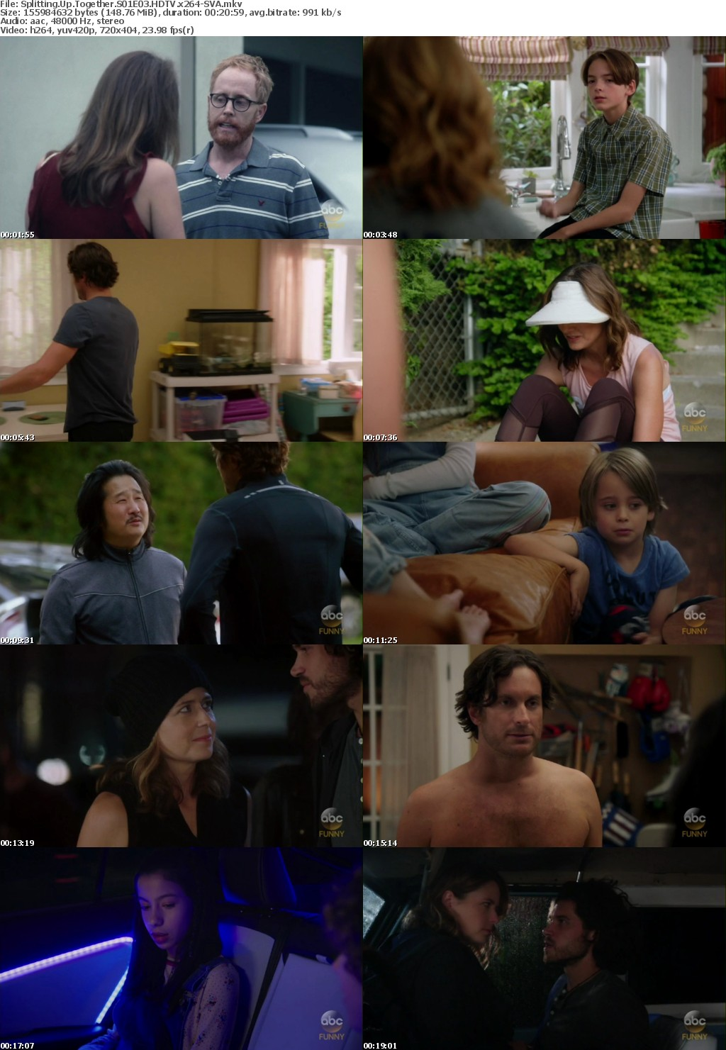 Splitting Up Together S01E03 HDTV x264-SVA
