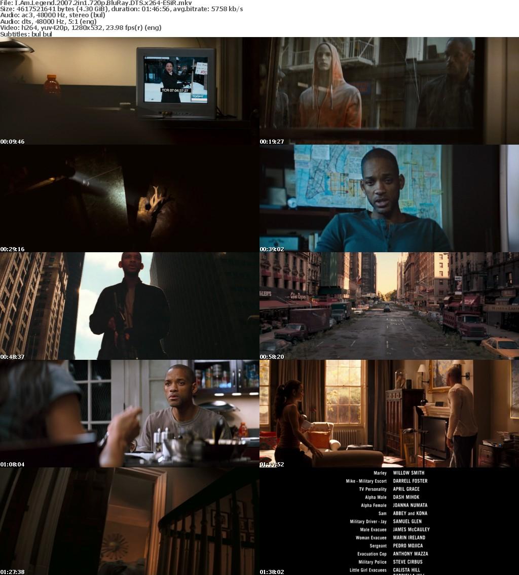 I Am Legend (2007) 2in1 720p BluRay DTS x264-ESiR