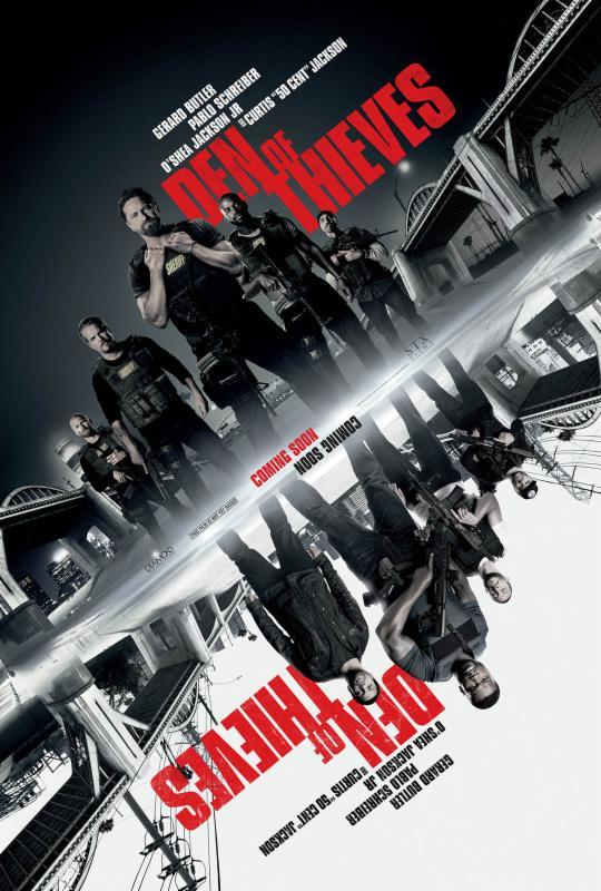 Den of Thieves 2018 UNRATED 720p BRRip HEVC MkvCage