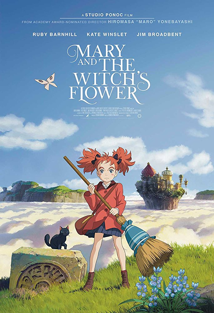 Mary and the Witchs Flower 2018 BDRip XviD AC3-EVO[N1C]