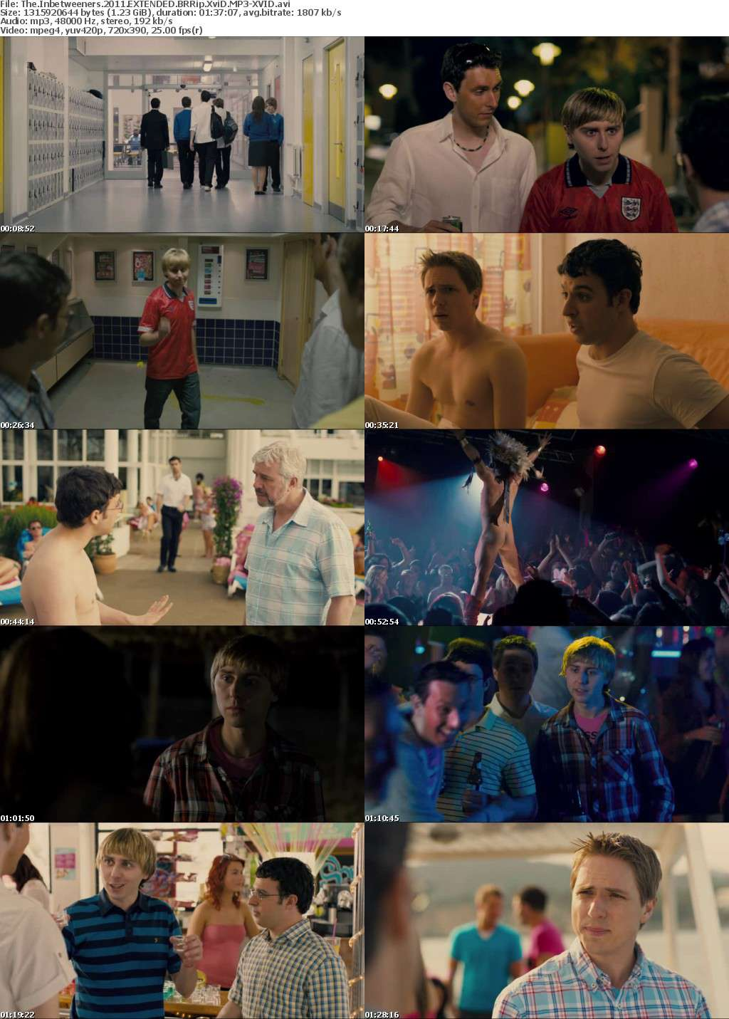 The Inbetweeners 2011 EXTENDED BRRip XviD MP3-XVID