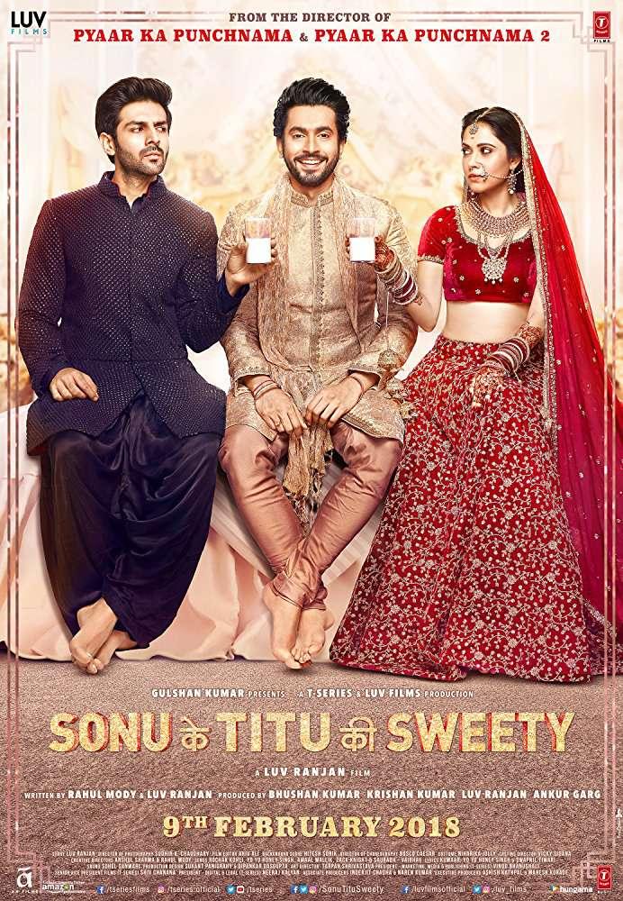 Sonu Ke Titu Ki Sweety (2018) Hindi 1080p WebHD Rip - X264 AC3 ESub - DTOne