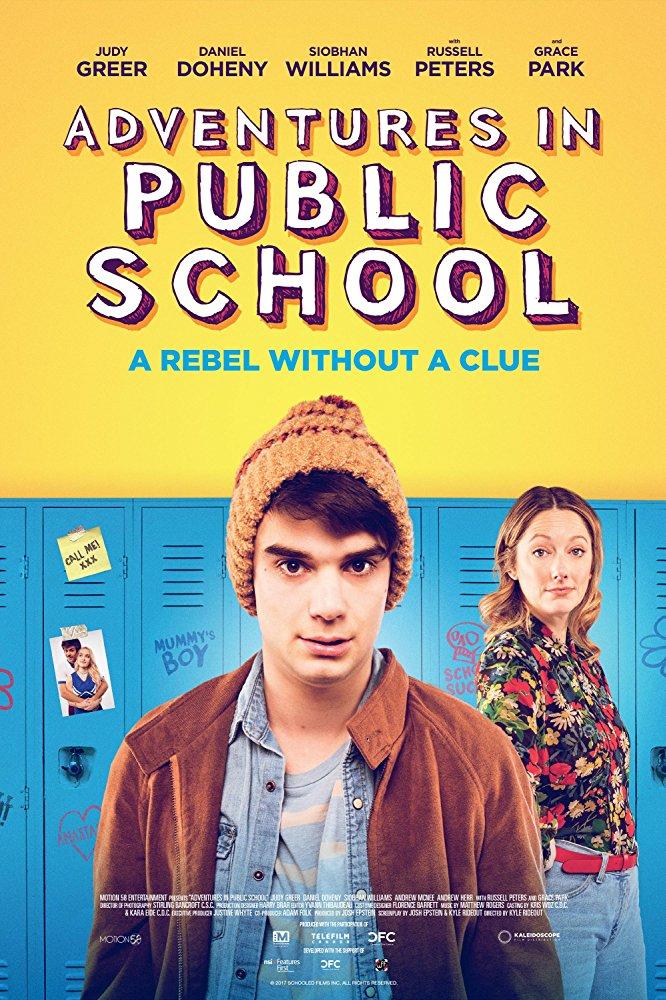Adventures In Public School (2017) HDRip XviD AC3-EVO