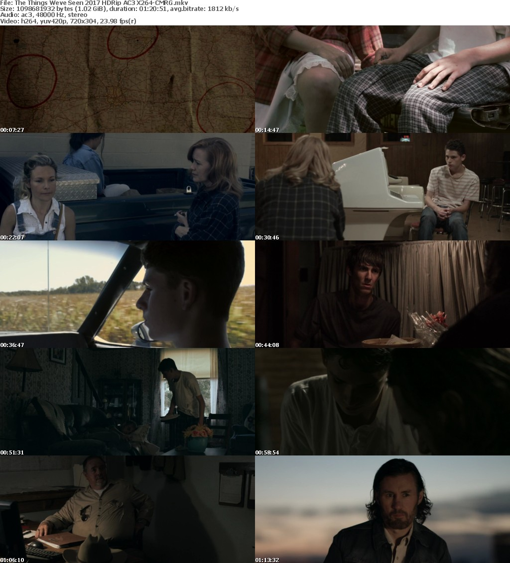 The Things Weve Seen (2017) HDRip AC3 X264-CMRG