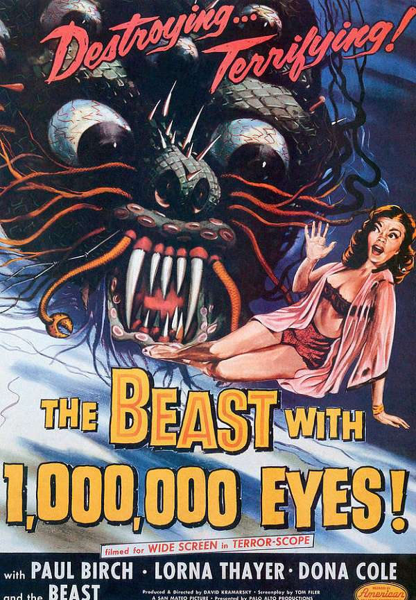 The Beast With a Million Eyes 1955 DVDRip x264