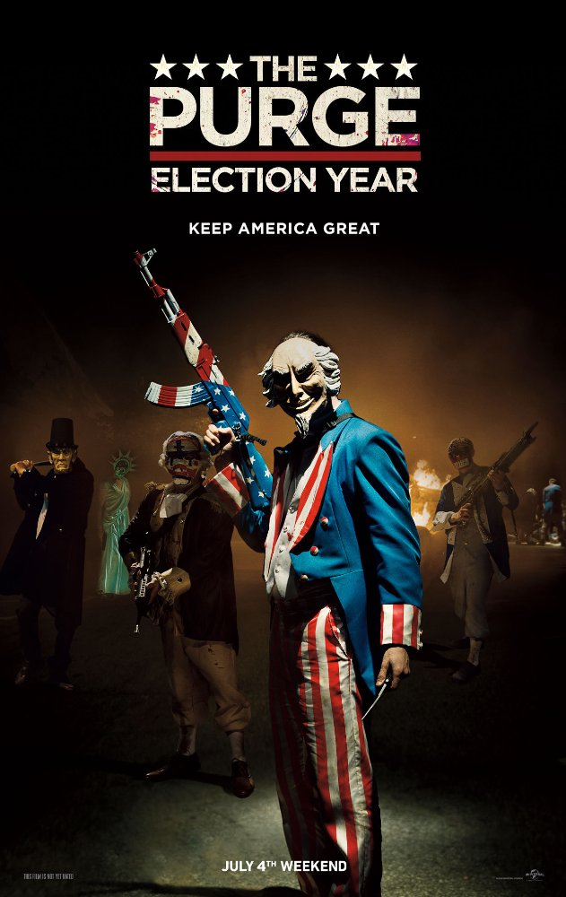 The Purge Election Year (2016) 720p BluRay x264 Dual Audio Hindi - English DD5 1 - Esub ~ Ranvijay