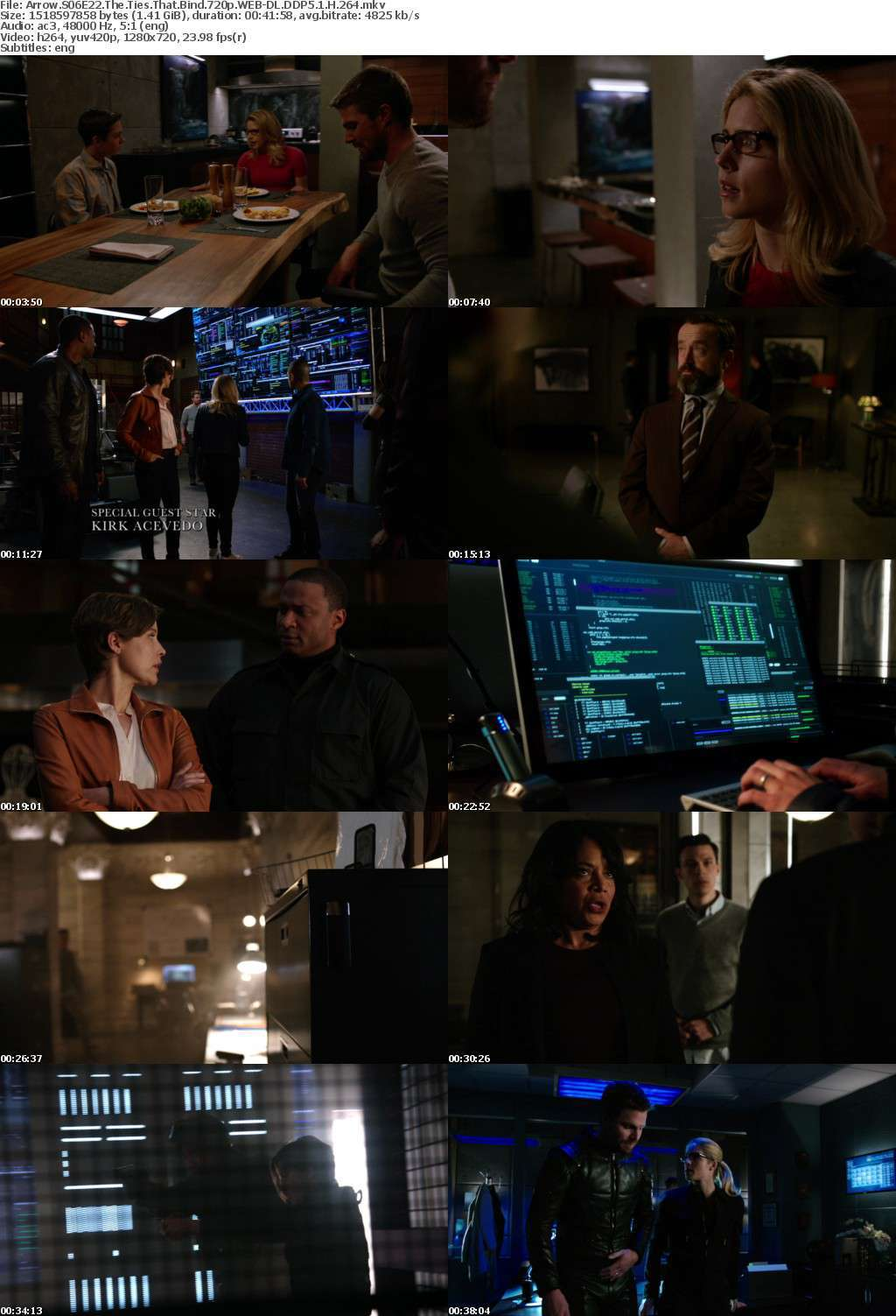 Arrow S06E22 The Ties That Bind 720p WEB-DL DDP5 1 H 264