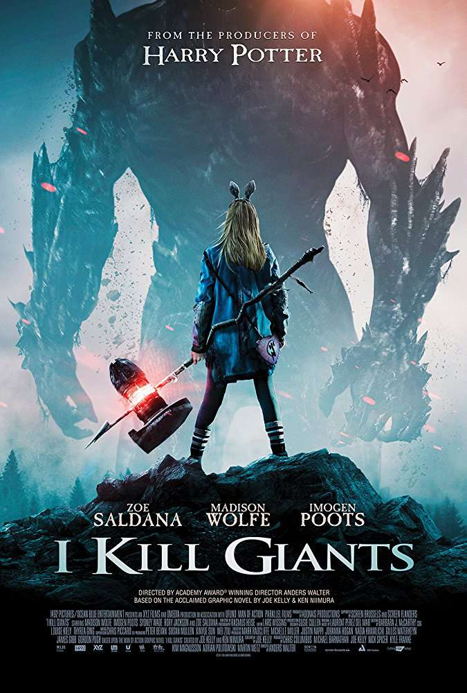 I Kill Giants 2017 720p BRRip 950MB MkvCage
