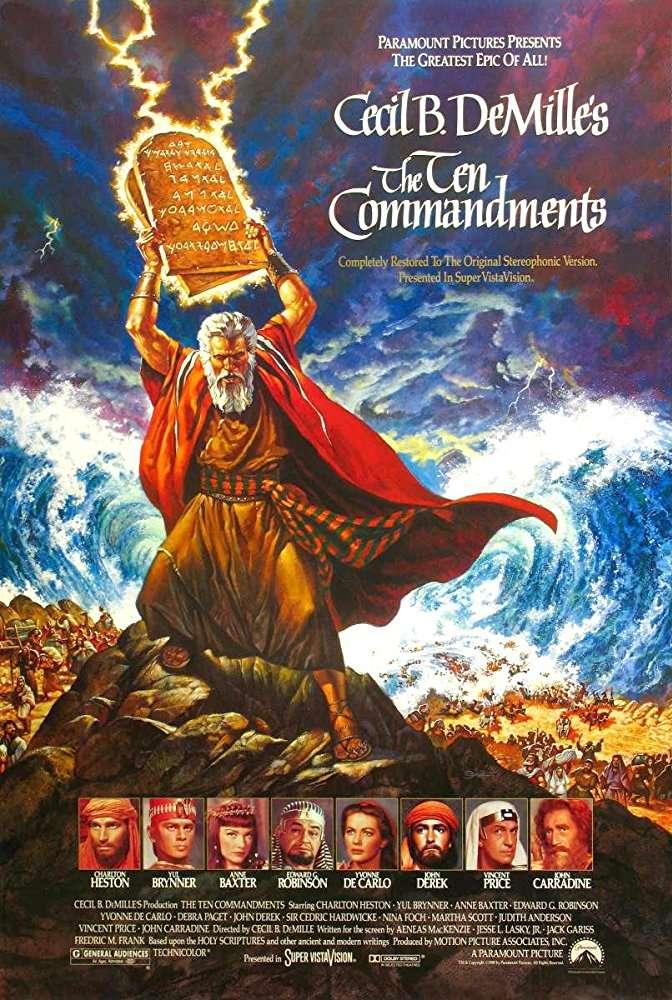 The Ten Commandments 1956 BRRip XviD MP3-XVID